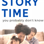 parents reading to child for story time benefits