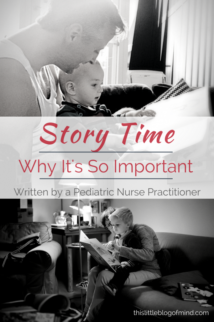 Learn why story time is so important for children. Story time teaches important skills that you don't want your children to miss! | simplywellfamily.com