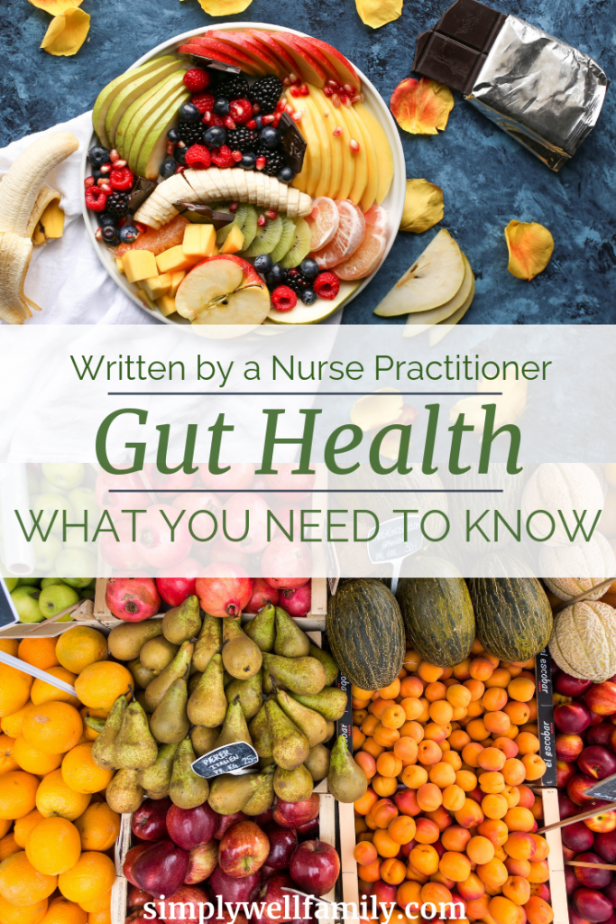Improve your gut health today. Learn why gut health is important, which foods to improve, and what diet to follow to heal your gut. #probiotics | simplywellfamily.com
