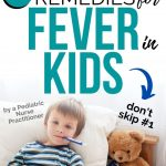 child with fever natural remedies