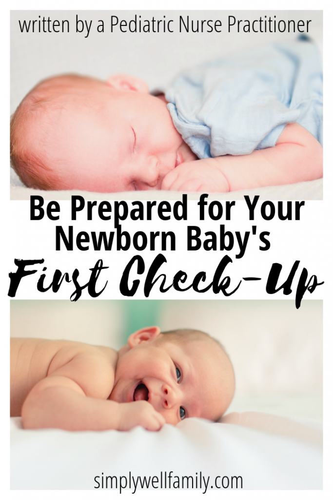 newborn first check up