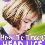young girl head lice treatment natural