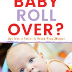 baby rolling over