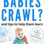 baby crawling learning how to crawl